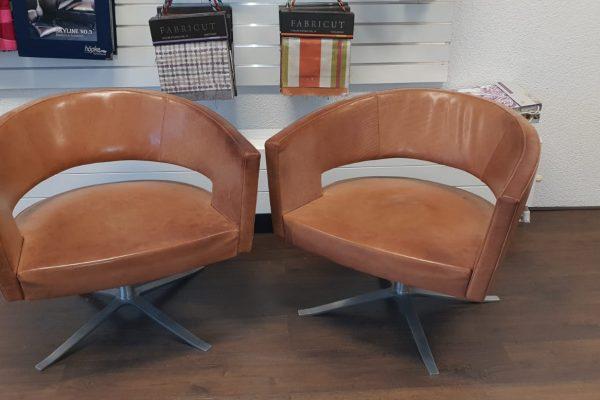 leerbewerking-dordrecht-oranje-stoel1