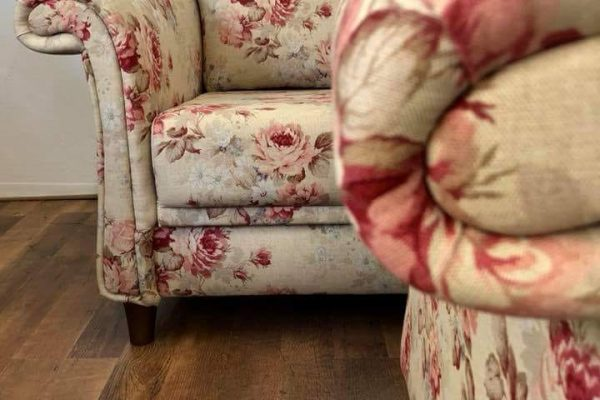 meubelstoffering-dordrecht-stoel-bloemen